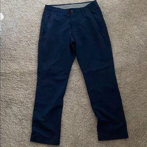 Under Armour navy golf pants 32x30